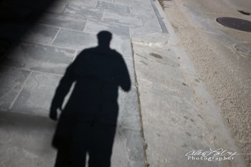 My Shadow, French Quarter, New Orleans, 2017