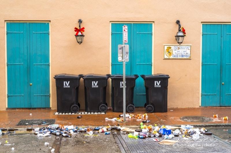 Sunday Morning, French Quarter, New Orleans, 2017