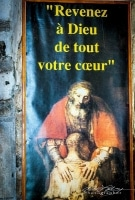 """Return to God With All Your Heart."" Orleans, France, 2009"